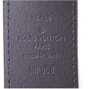 Louis Vuitton Accessories - with Chains Size 110 44 Virgil Belt